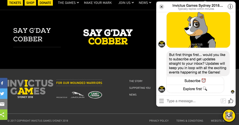 cobber the chatbot