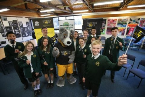 Cobber the Invictus Games mascot