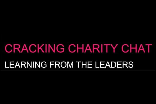 Cracking Charity Chat - logo for podcast