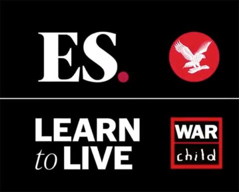 War Child Learn to Live campaign