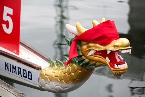 Nimrod dragon boat - photo: Dragons at the Docks, 2018
