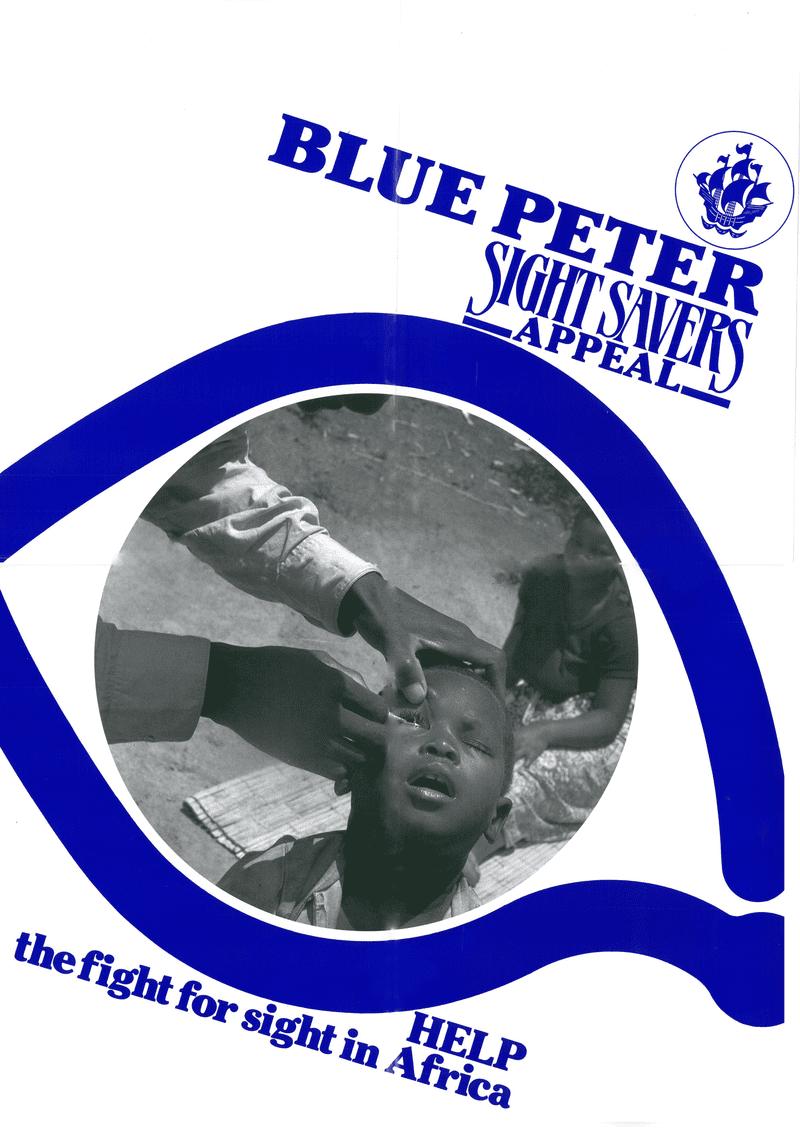 Blue Peter Sight savers poster