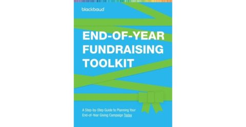 Blackbaud end of year fundraising toolkit - front cover