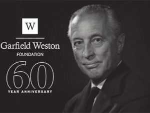 Garfield Weston Foundation increases anniversary fund from £5m to £11m