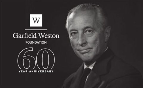 Garfield Weston Foundation 60th anniversary - photo of Sir Garfield Weston