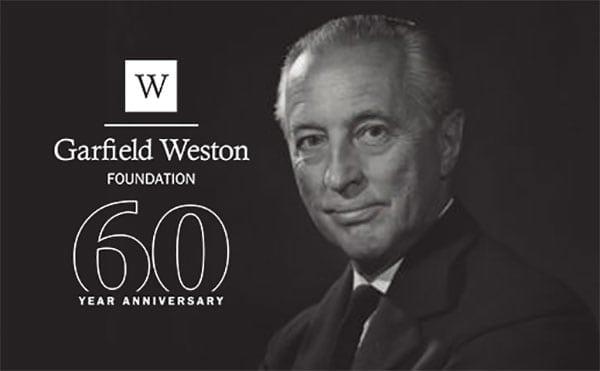 Garfield Weston Foundation 60th anniversary - photo of Sir Garfield Weston