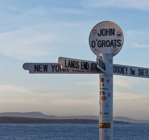 John O'Groats and New York finger post - Pixabay.com