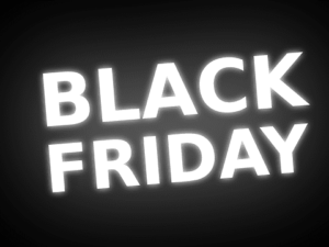 Black Friday with a charity twist