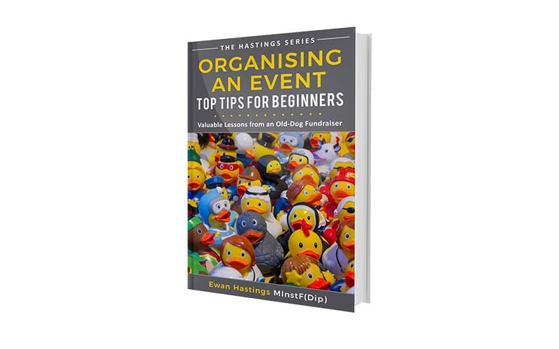 Book cover of Organising an Event: Top Tips for Beginners
