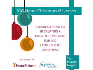 100 families in temporary accommodation to receive Christmas makeovers