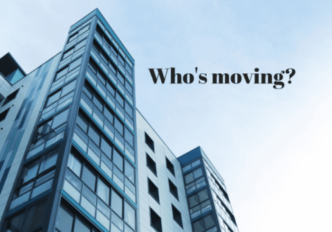 Who's moving?