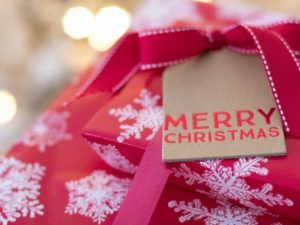 44% of Brits would forego a Christmas present in exchange for a gift to charity