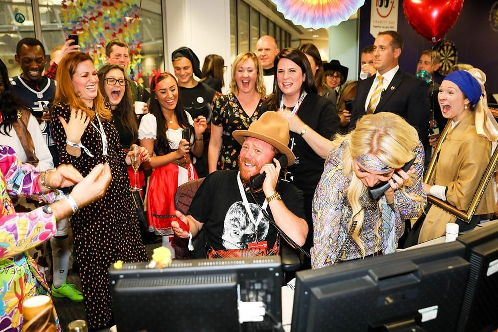 Keith Lemon at ICAP Charity Day 2018