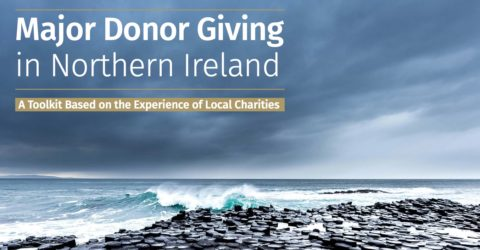 Major Donor Giving in Northern Ireland - report front cover