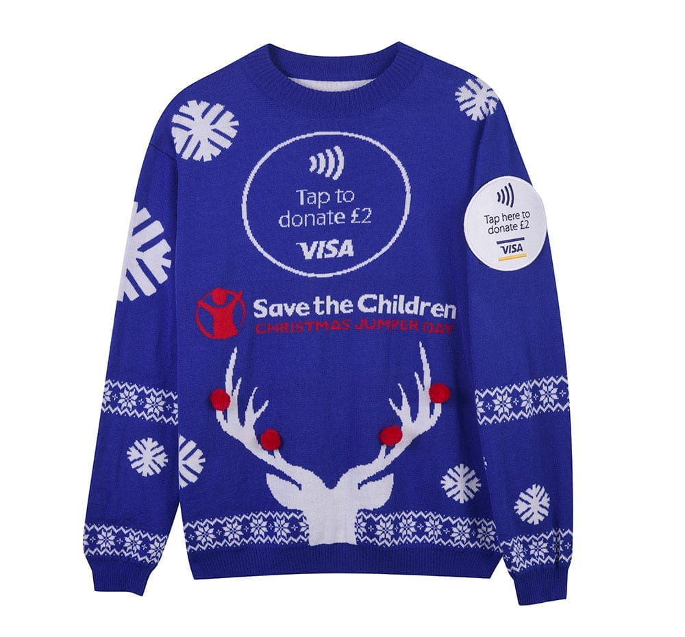 Christmas Jumper Day 2019 Save The Children.Save The Children Create Contactless Christmas Jumpers Uk