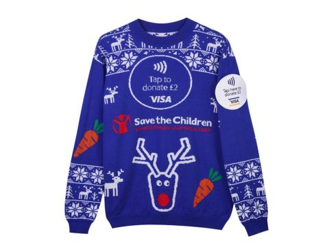 Contactless Christmas jumper