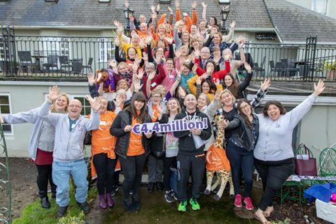 Participants celebrating Relay for Life - photo: Irish Cancer Society