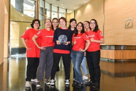 Deutsche Bank Hackathon winners