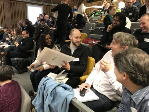 Audience discussion at Behavioural Economics for Good 2018