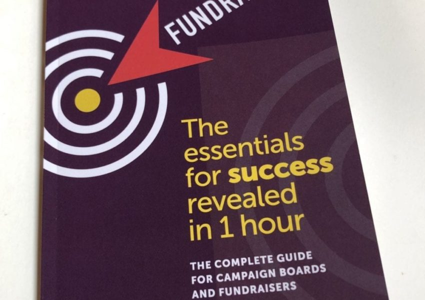 Cover of Stuart Armstrng's Fundraising: The essentials for success revealed in one hour