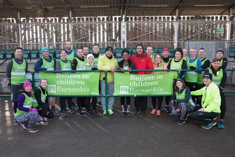 London Marathon training day