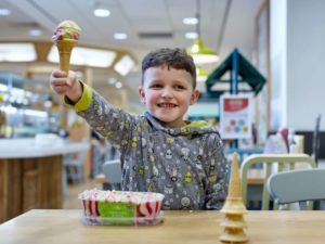 New ice cream flavour from Morrisons to raise funds for CLIC Sargent
