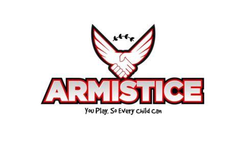 Armistice logo for War Child