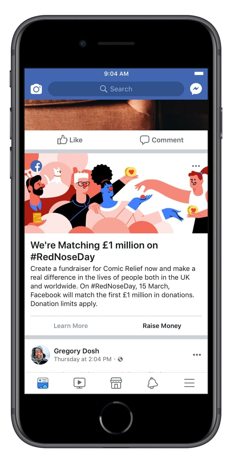 Facebook supports Red Nose Day with £1 million matched