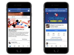Facebook supports Red Nose Day with £1 million matched giving fund