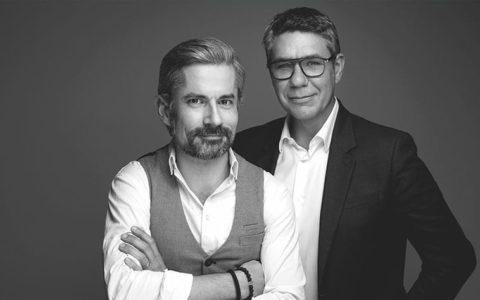 (l-r) Claude Pouvreau and Fred Fournier