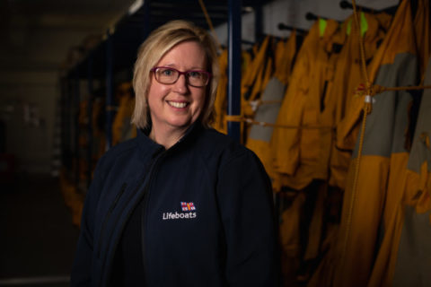 Sue Barnes, RNLI People Director