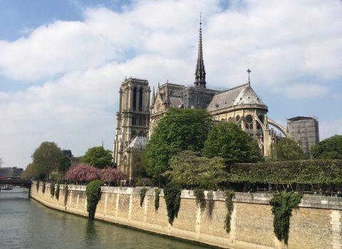 Notre Dame, Paris, April 2019: photo copyright MMay