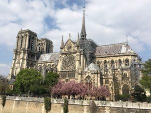 Notre Dame fire inspires immediate fundraising effort
