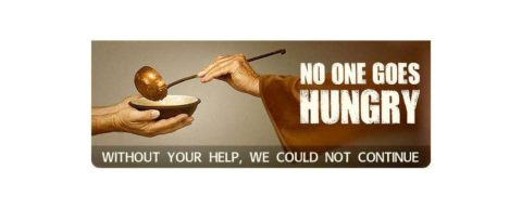 Capuchin Day Centre for Homeless People website promotion - 'No one goes hungry'