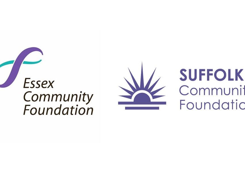 Essex and Suffolk Community Foundations logos