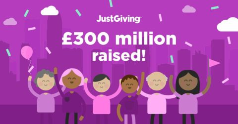 JustGiving announces £300m raised over 19 London Marathons