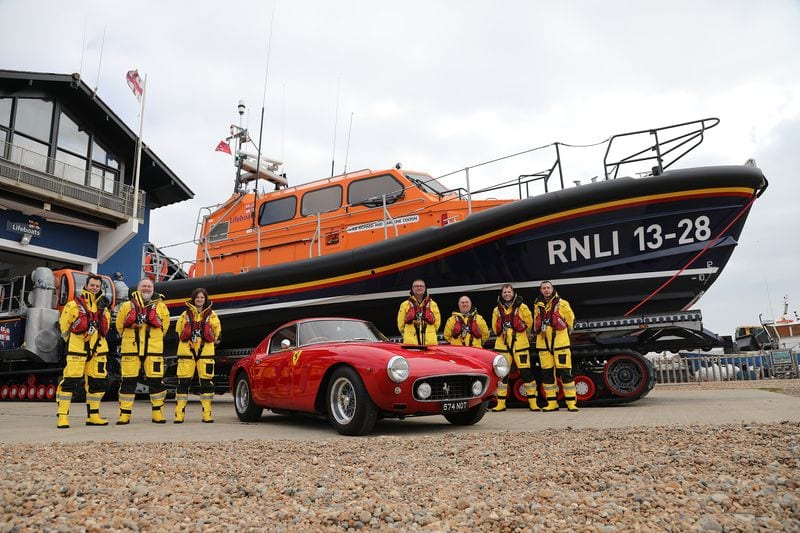 lifeboat funded by Ferraris