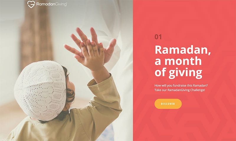 RamadanGiving.com (screesnshot) from MuslimGiving.org