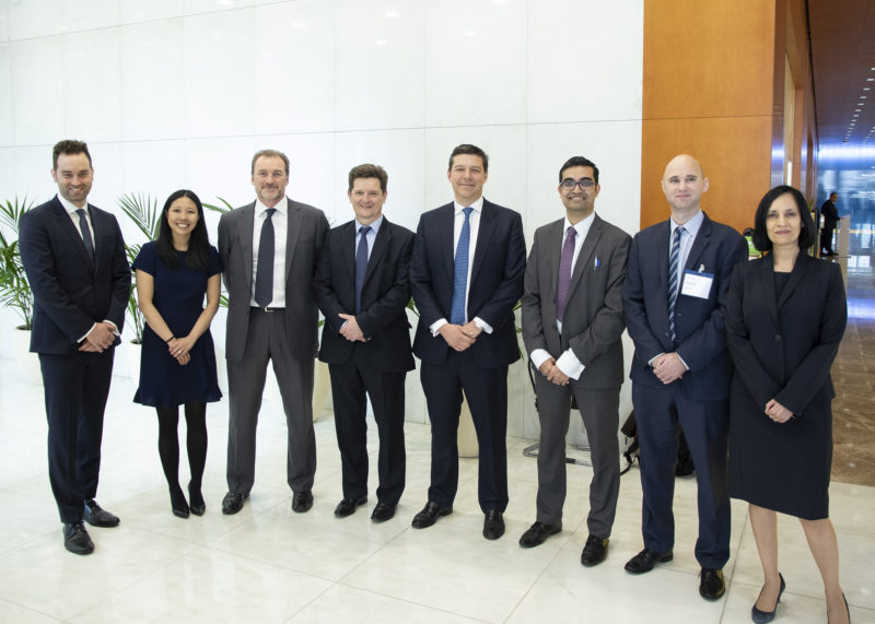 Morgan Stanley Strategy Challenge winners