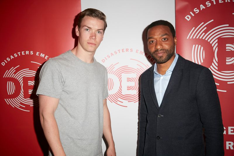 Will Poulter & Chiwetel Ojifor