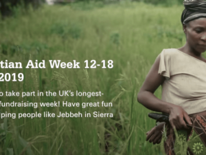 Christian Aid Week to trial contactless