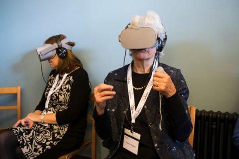 MND Association VR tour