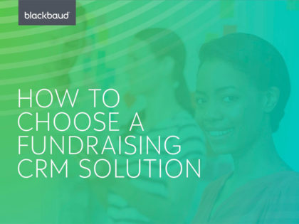 New guide released to help charities choose fundraising software