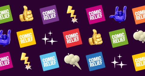 Comic Relief's Facebook page header