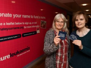 Cure Leukaemia unveils 100 supporter plaques for World Blood Cancer Day
