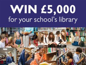 Win £5,000 in book tokens for your school
