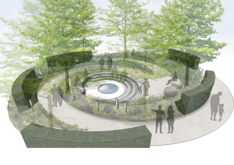 CRUK Hampton Court Festival garden