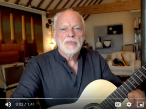 David Gilmour guitar auction raises $21m for Climate Change