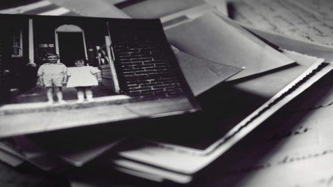 Black and white photo memories