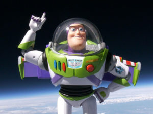 Buzz Lightyear's spaceflight to raise funds for Together for Short Lives